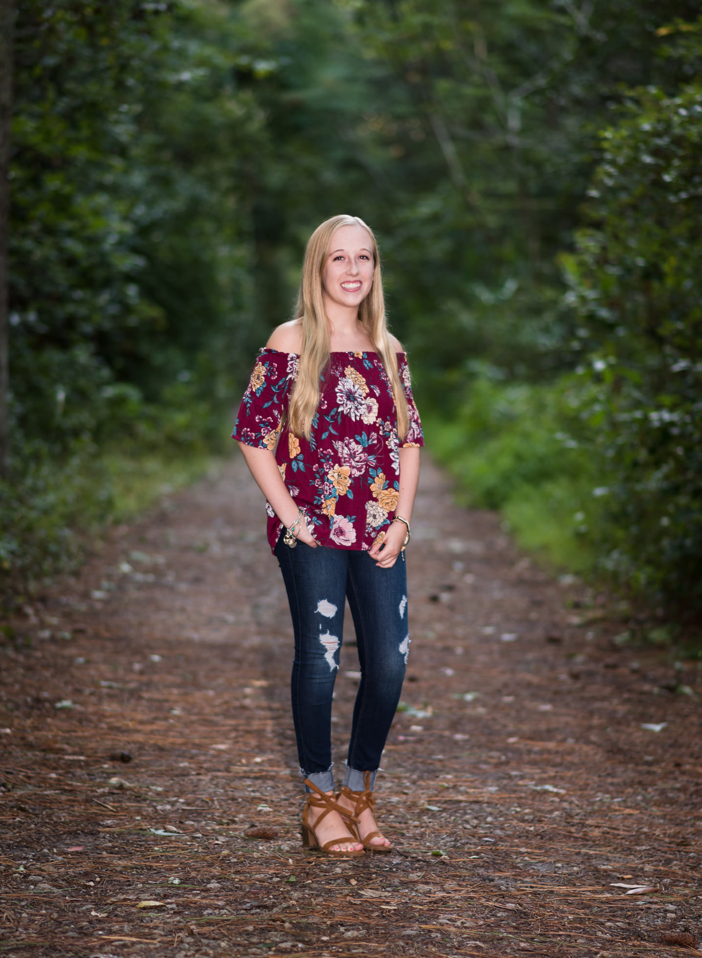 north end Virginia beach high school college senior portrait photographer