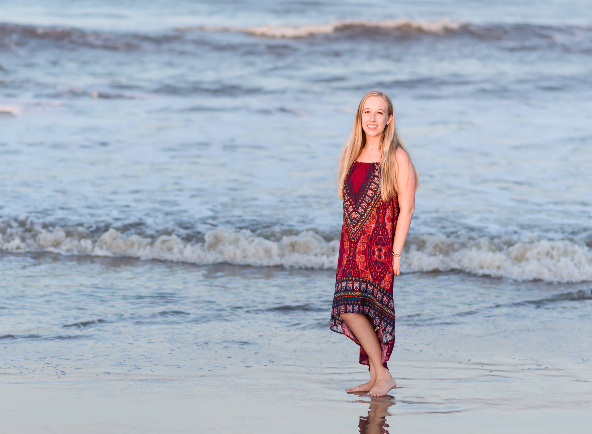 北端弗吉尼亚海滩高中学院高级肖像摄影师