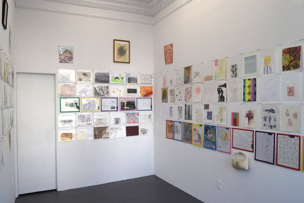Notebook , 2019, Installation view, 56 Henry, New York. Curated by Joanne Greenbaum