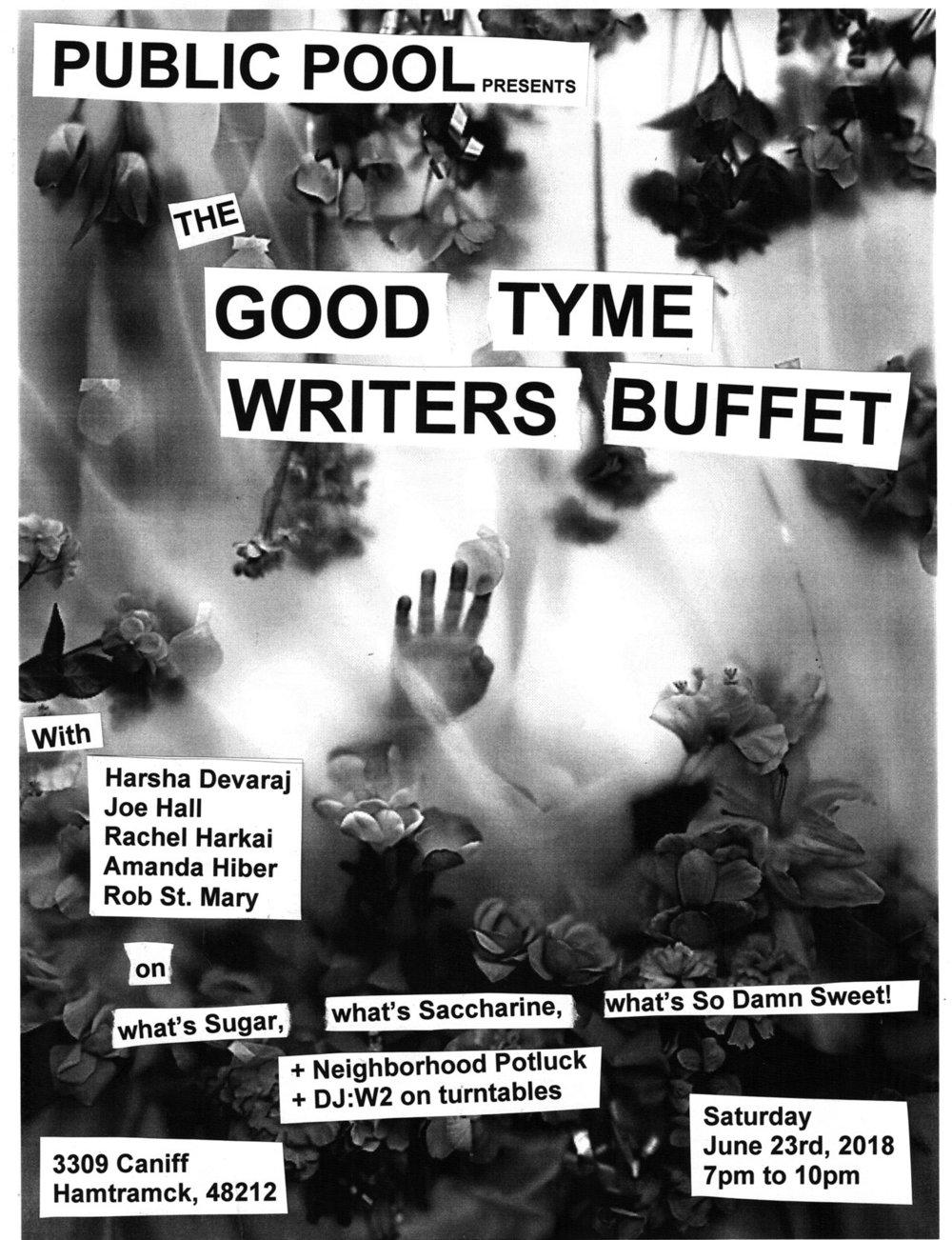 good tyme buffet