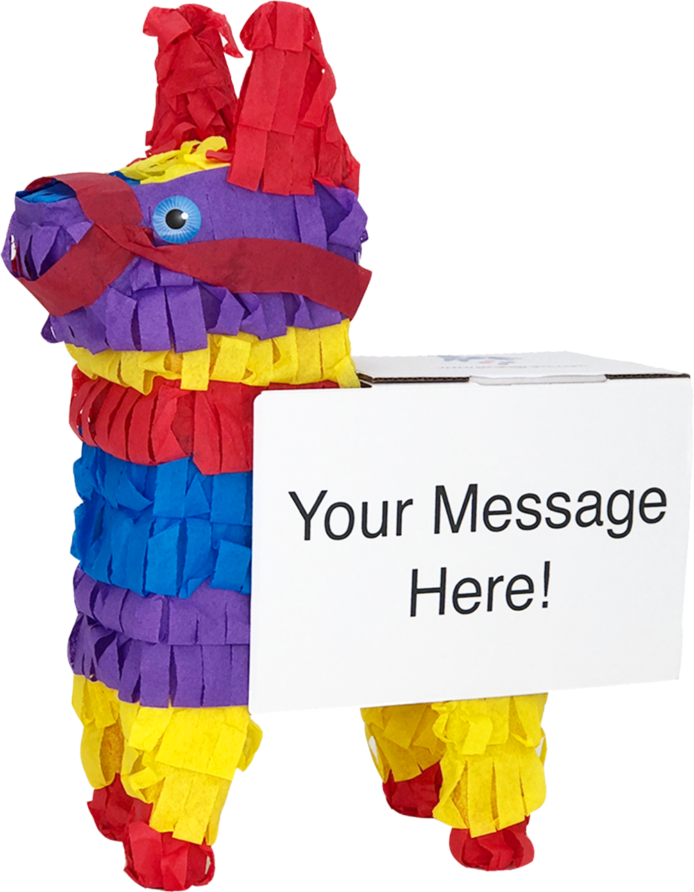 pinata-faceleft-yourmessagehere.png