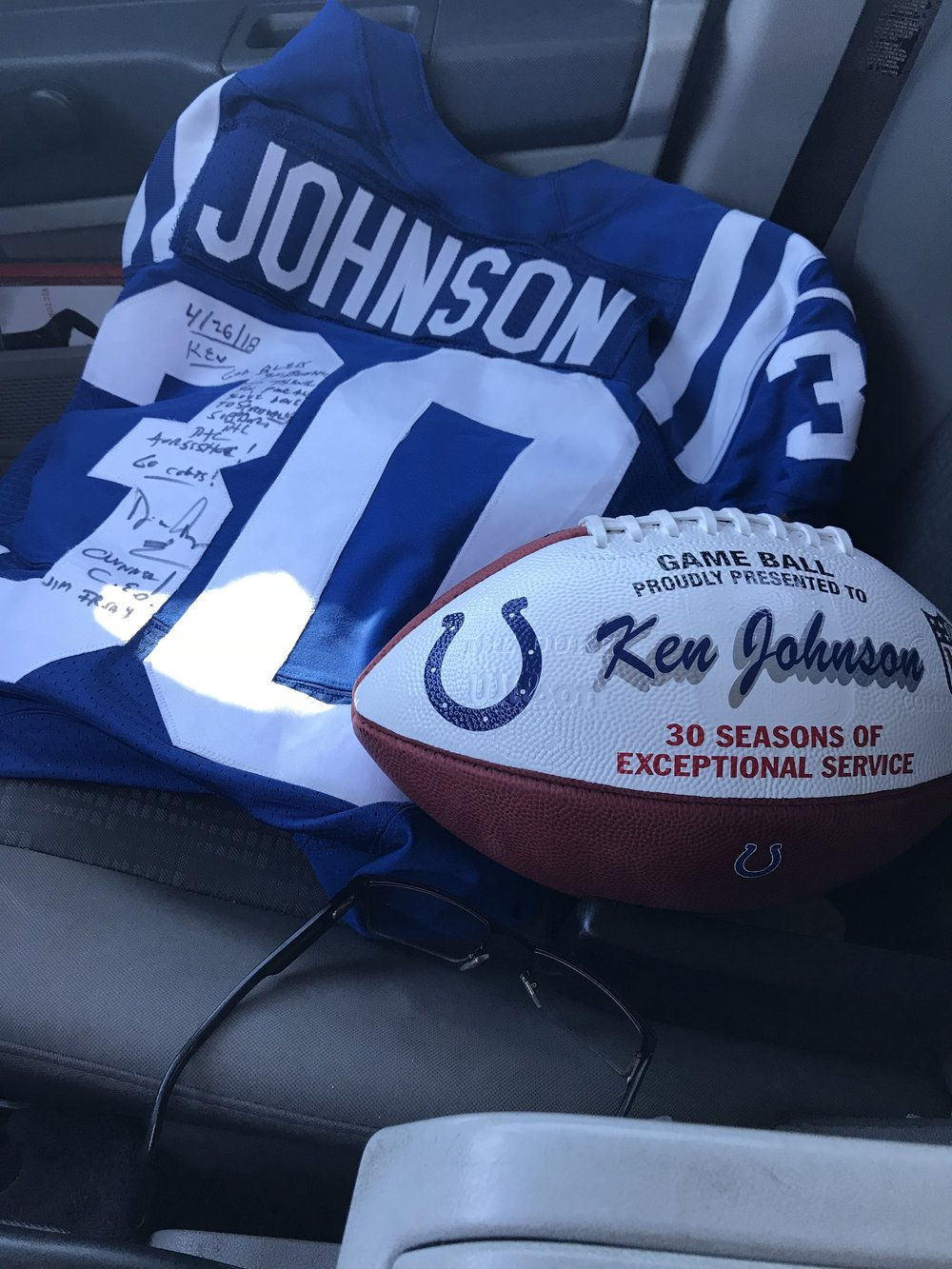 30 seasons as the Colts Chap! - A True Motivator of Men