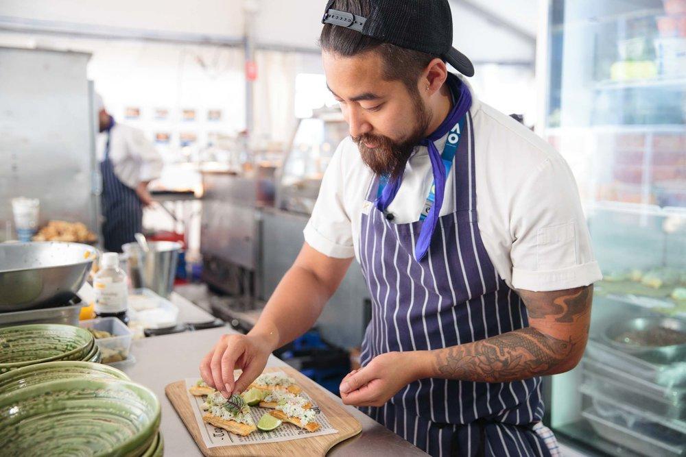 Chef behind the scenes -  Australian Open
