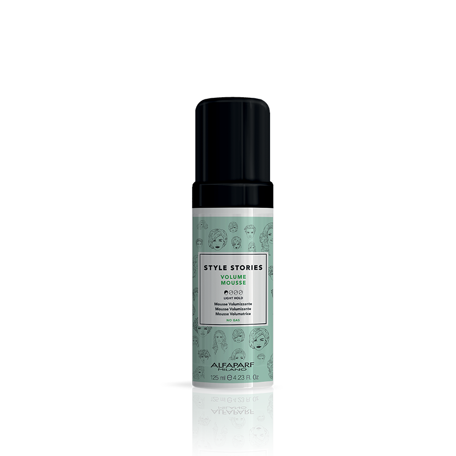 VOLUME MOUSSE    DESCRIPTION   An ideal mousse for fine hair, it amplifies the volume and brings body to the hair fiber, leaving the hair lightweight and shiny.   FORMAT   125 ml