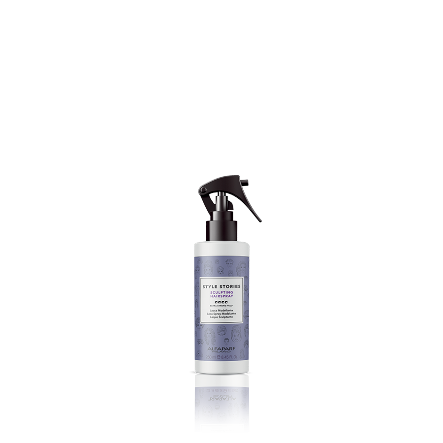 SCULPTING HAIRSPRAY    DESCRIPTION   Gas-free hairspray, sculpts any look, a final touch to fix and give shine.   FORMAT   250 ml