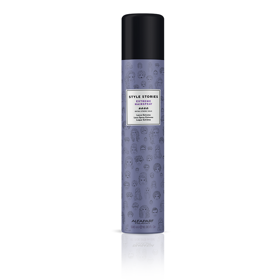 EXTREME HAIRSPRAY    DESCRIPTION   Hairspray for structured results, it fixes the hair style without weighing it down.   FORMAT   500 ml