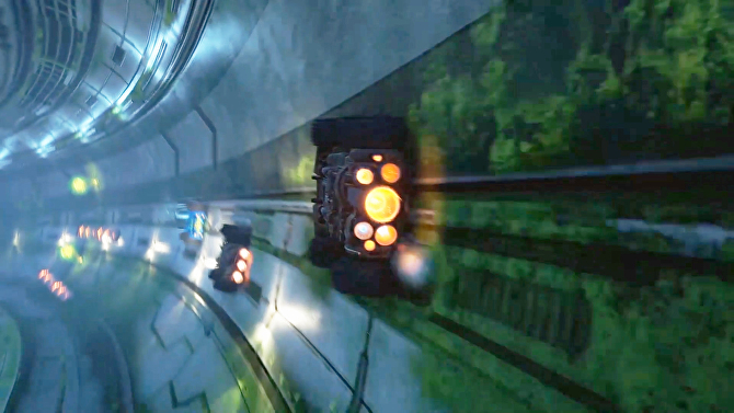 The gravity-defying Grip- Combat Racing flips out of early access