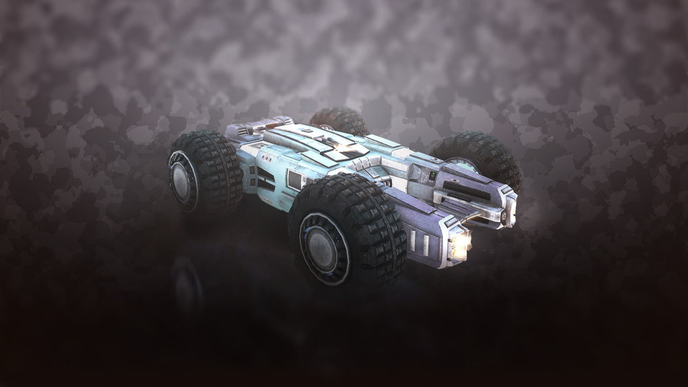 Dominator - A repurposed scout vehicle from the military, the Dominator has speed, but also durability.