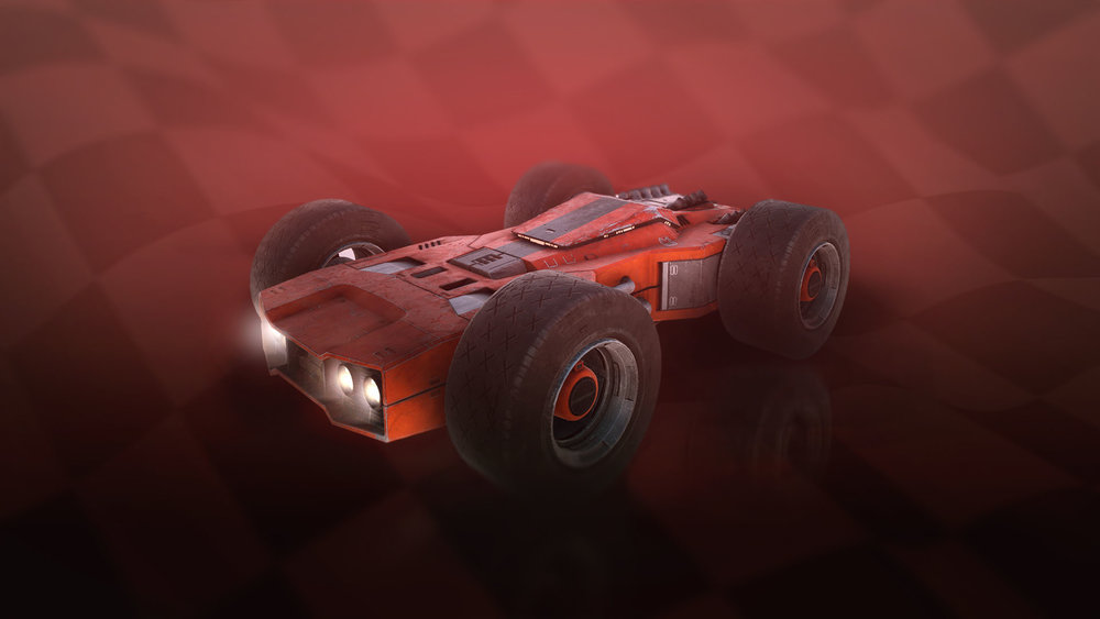 Warlander - A muscle car at its core, the Warlander roars past its competition.