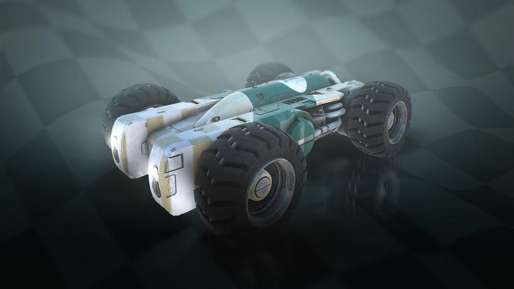 Juggernaut - Half missile, half car, the Juggernaut is a beast - but can be hard to handle.