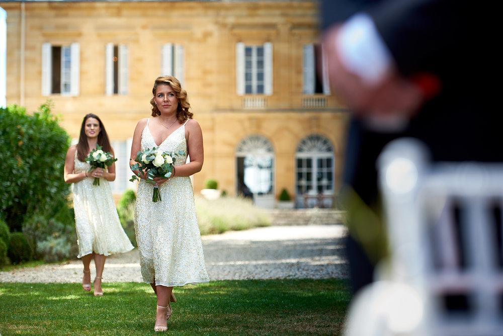Bridesmaid - Wedding at Chateau la Durantie Dordogne, France. Wedding photographer in Clermont-Ferrand Bordeaux