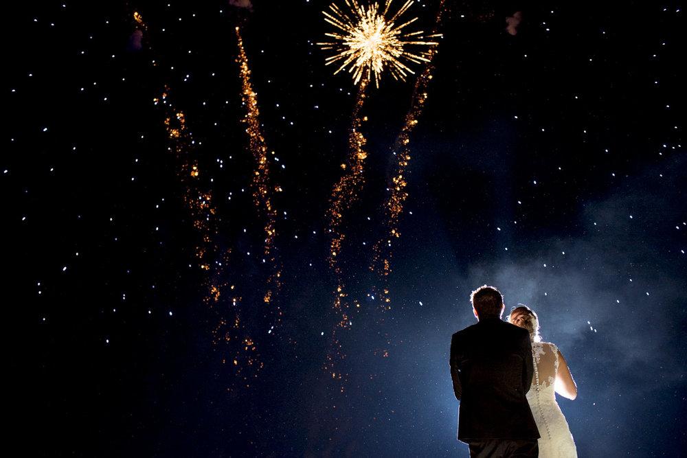 Mariage à Saint-Etienne | Feux d'artifice