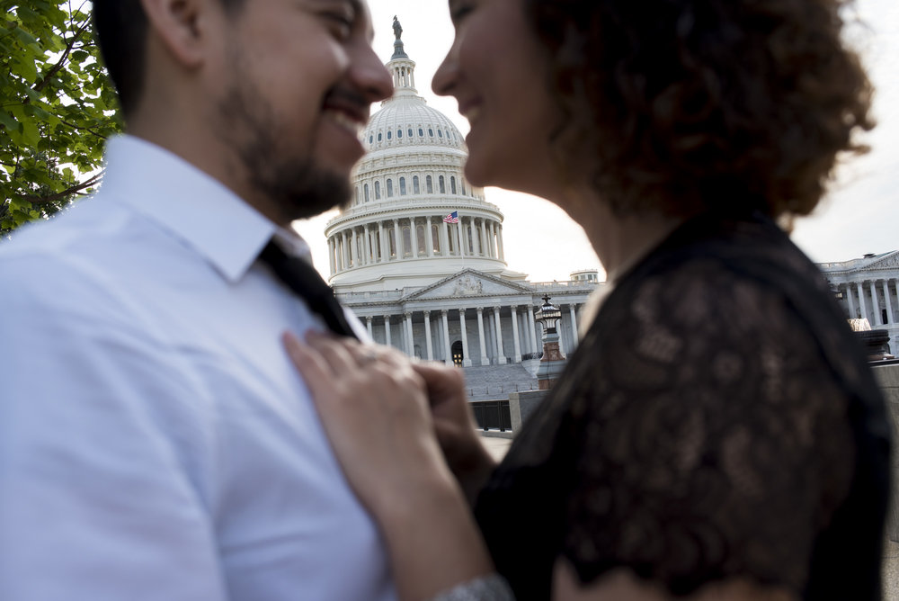 Washington DC couple session | French wedding photographer Auvergne | Wedding destionation