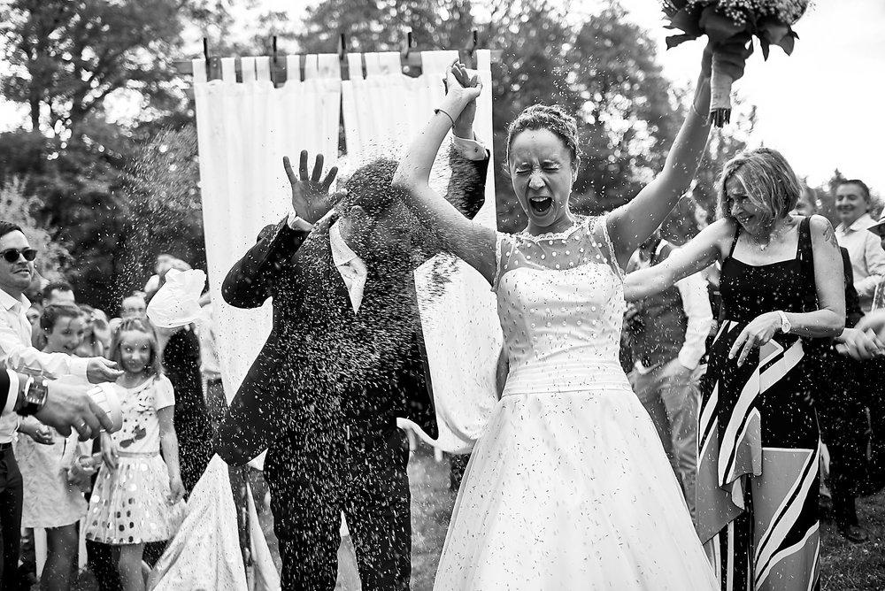 Photographe de mariage à Clermont-Ferrand, Photos de la cérémonie