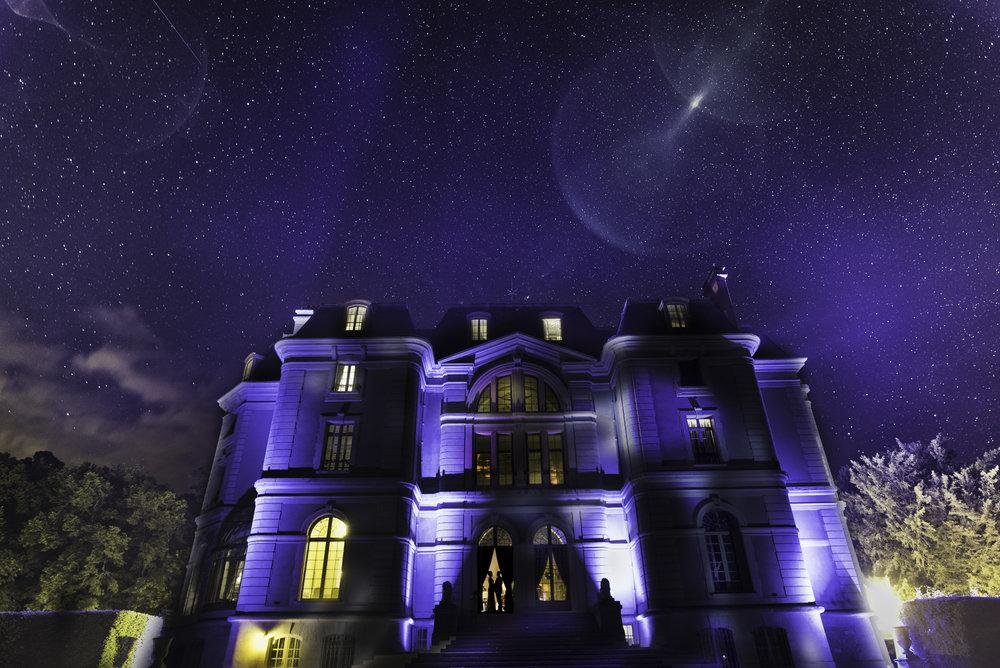 Photographe de mariage Clermont-Ferrand. Des photos originales de nuit.