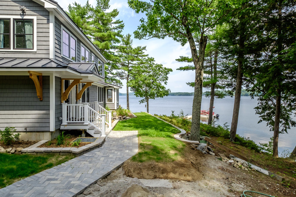 Maine Lakehouse Renovation By Mottram Architecture | Emily Mottram Energy Efficient Architect