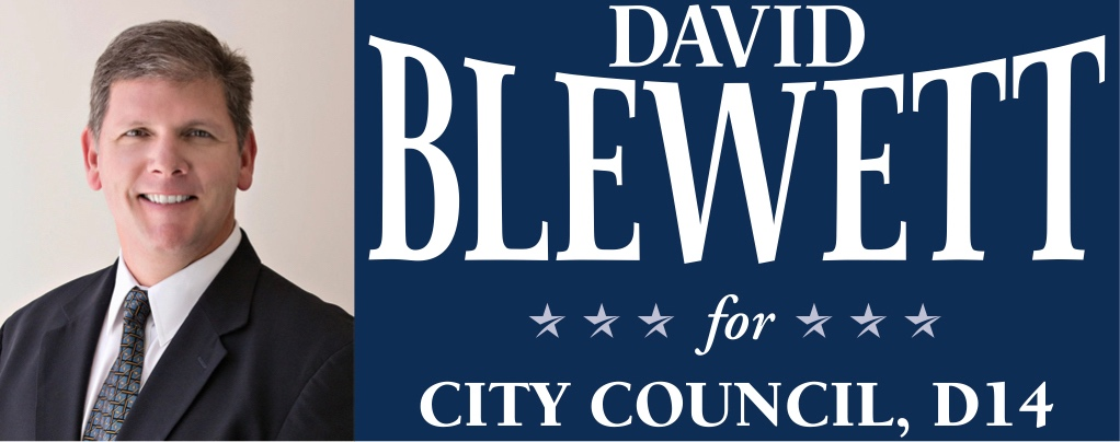 David Blewett for Dallas City Council, D14