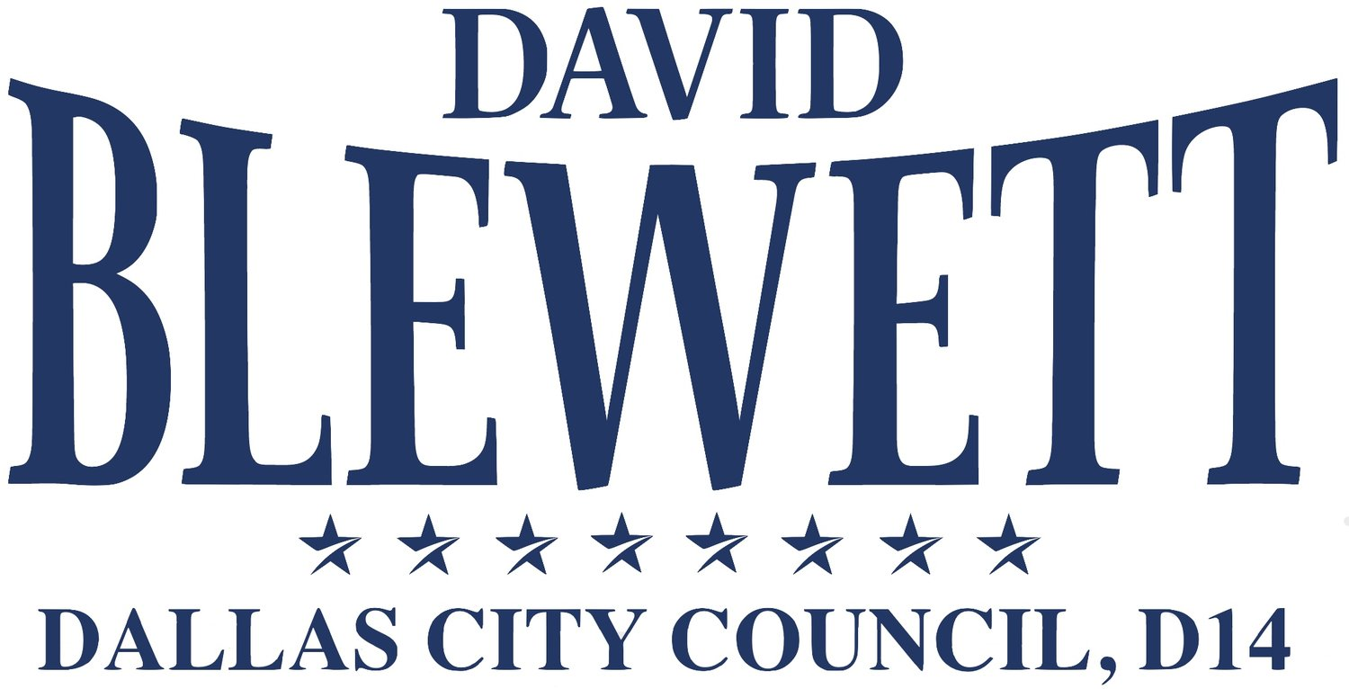 David Blewett, Dallas City Council, D14