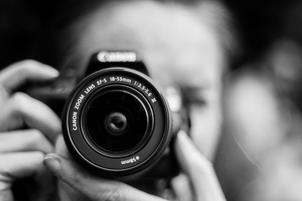 photography - A story is most efficient in the form of a photo; all the excess language is removed.
