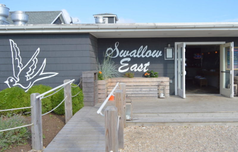 Swallow East - Rustic-chic waterside eatery offering elevated bar bites & seafood. It was our second choice to have our wedding.474 W Lake Dr, Montauk, NY 11954