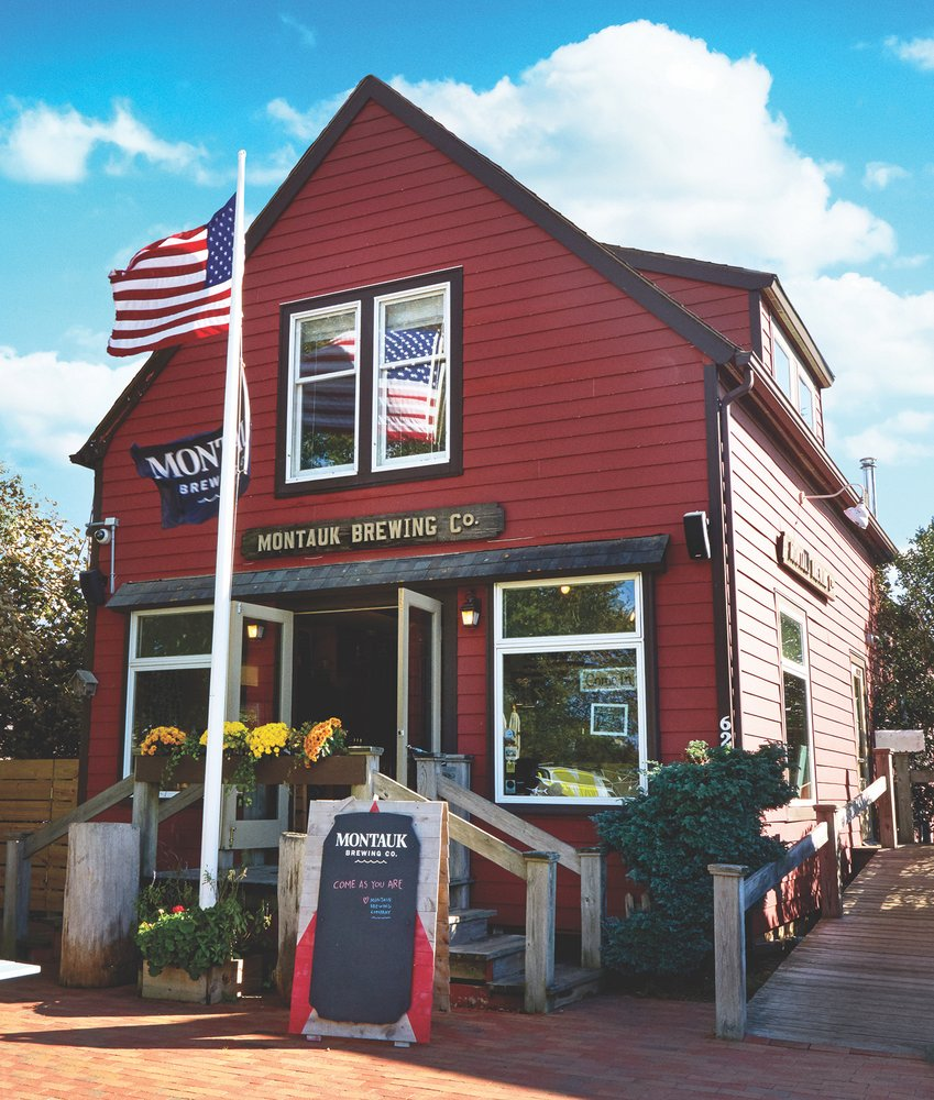 Montauk Brewery - Rob and I have spent too many days here and have a ton of merch.62 S Erie Ave, Montauk, NY 11954
