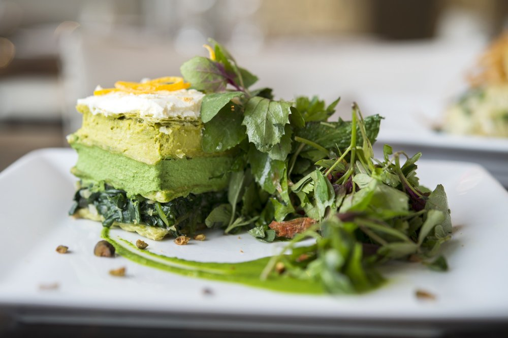 Spinach Mille Feuille