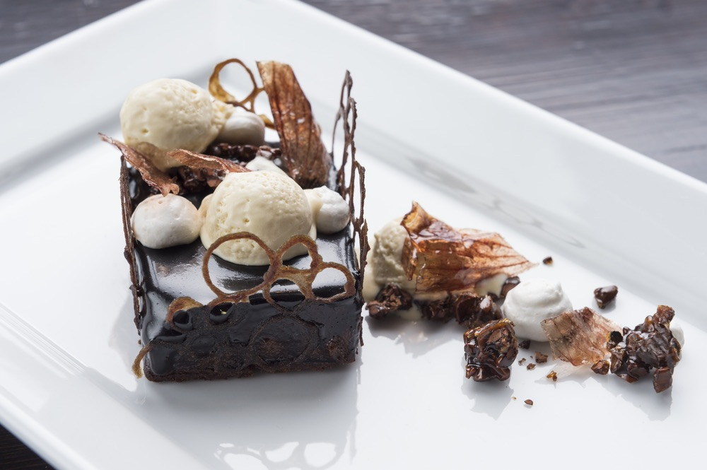 Chocolate & Onion Tart