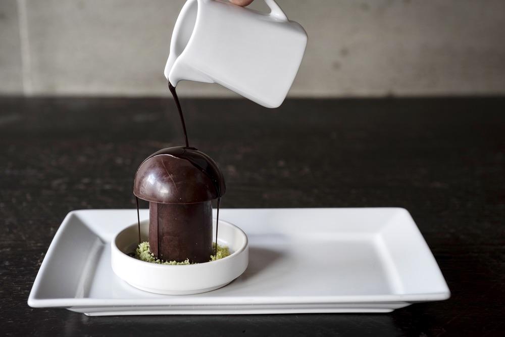 Mushroom Chocolate Pudding