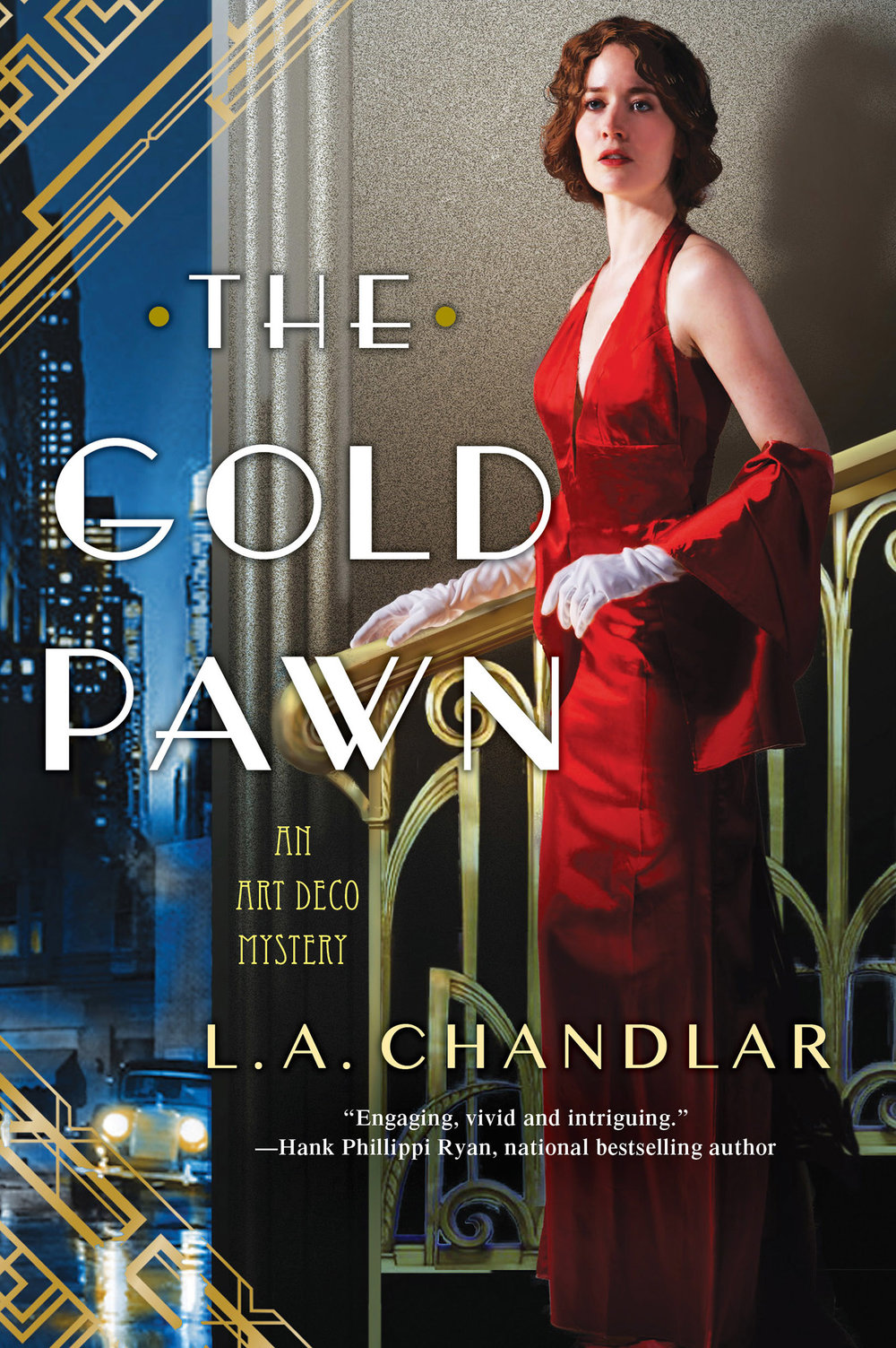 Book Two of the Art Deco Mysteries - Agatha Award Nominee