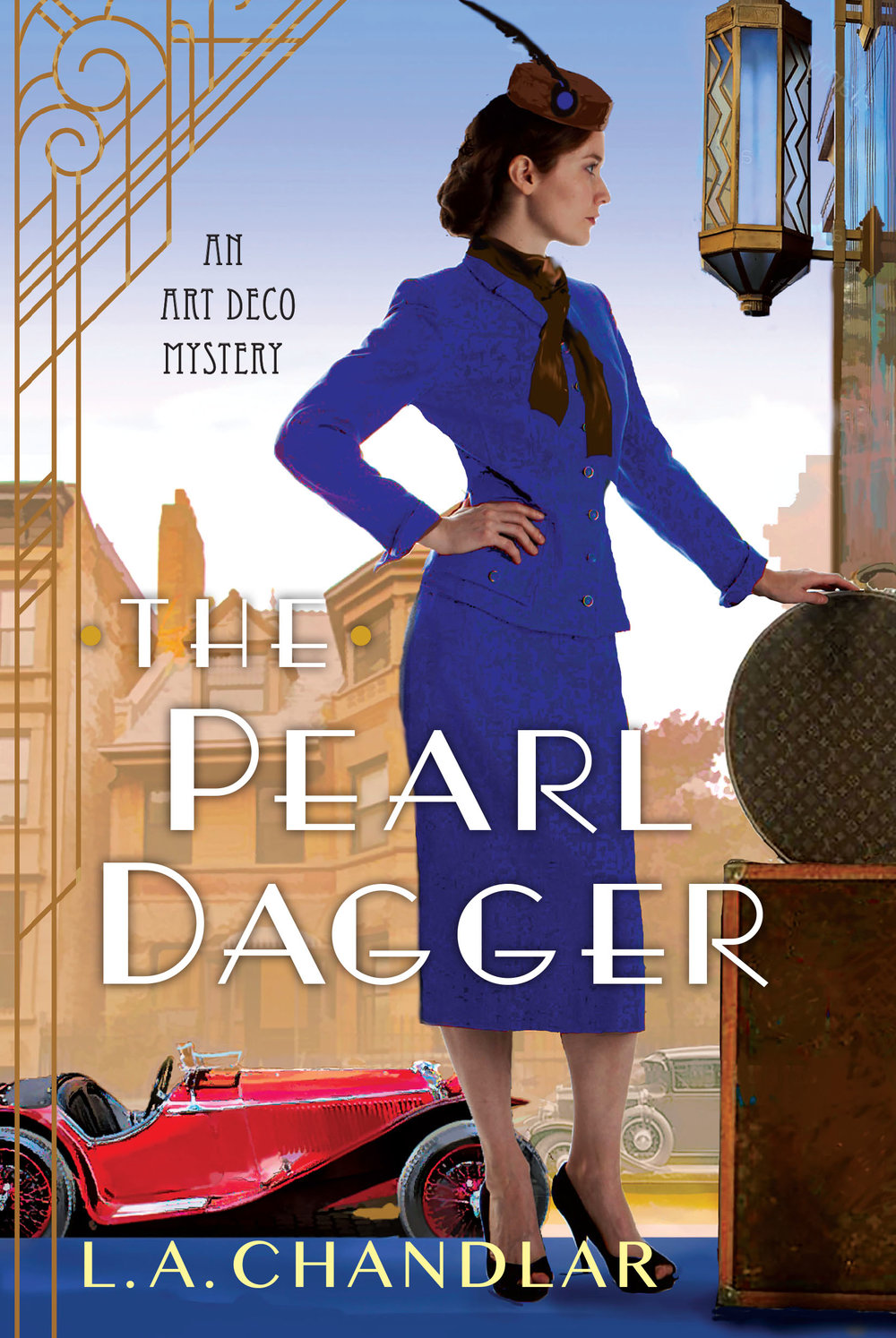 Book Three of the Art Deco Mysteries - Releasing September 2019