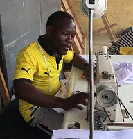 Ben is one of the employees and the right hand of Emmanuel. He makes all our samples.