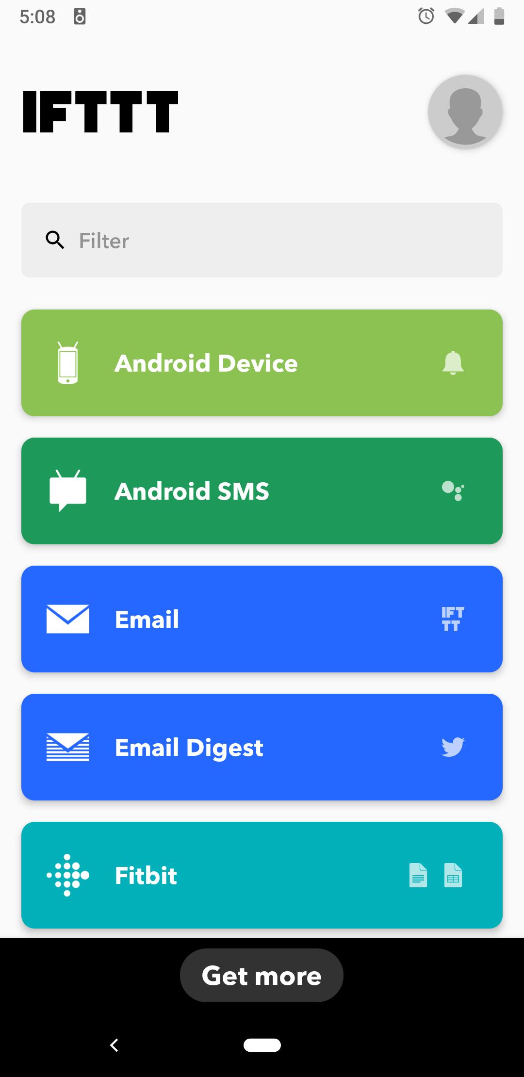 App Review: IFTTT — Arranging Time