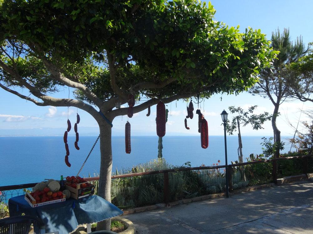 Capo-Vaticano-Sausage-Trees.JPG