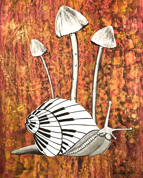Surreal Snail