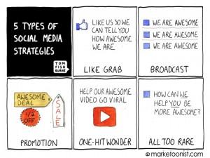 five_types_of_social_media_strategies