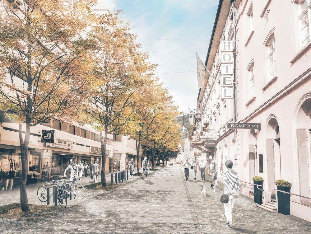 WB Quartier Leutbühel Bregenz --  3. R A N G —  ARGE mit Mettler Landschafts- architektur + Carmen Schrötter-Lenzi