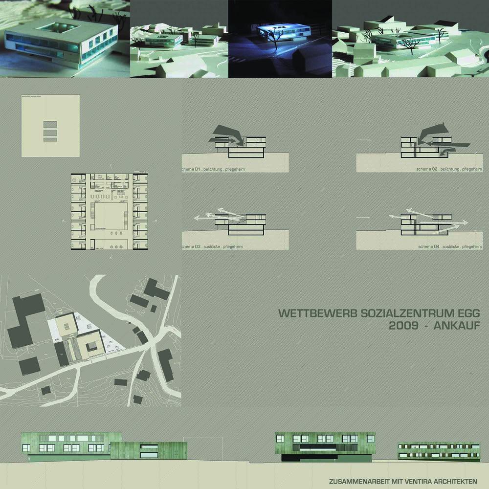 WB Sozialzentrum Egg —  5. R A N G --  ARGE mit Ventira Architekten