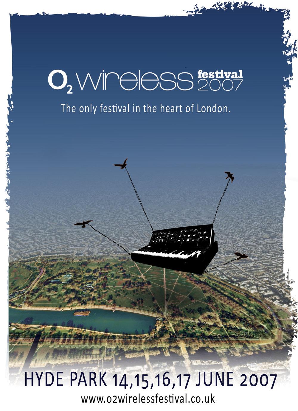 My unused design for the 2007 Wireless Festival
