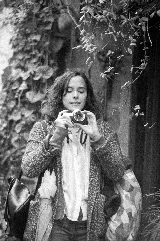 2018 - Hélène -  Camera  Olympus OM10  Lens  35-105mm f/3.5  Film  Nation Photo NB400
