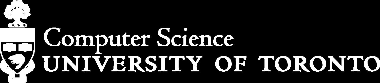 Department of Computer Science, University of Toronto
