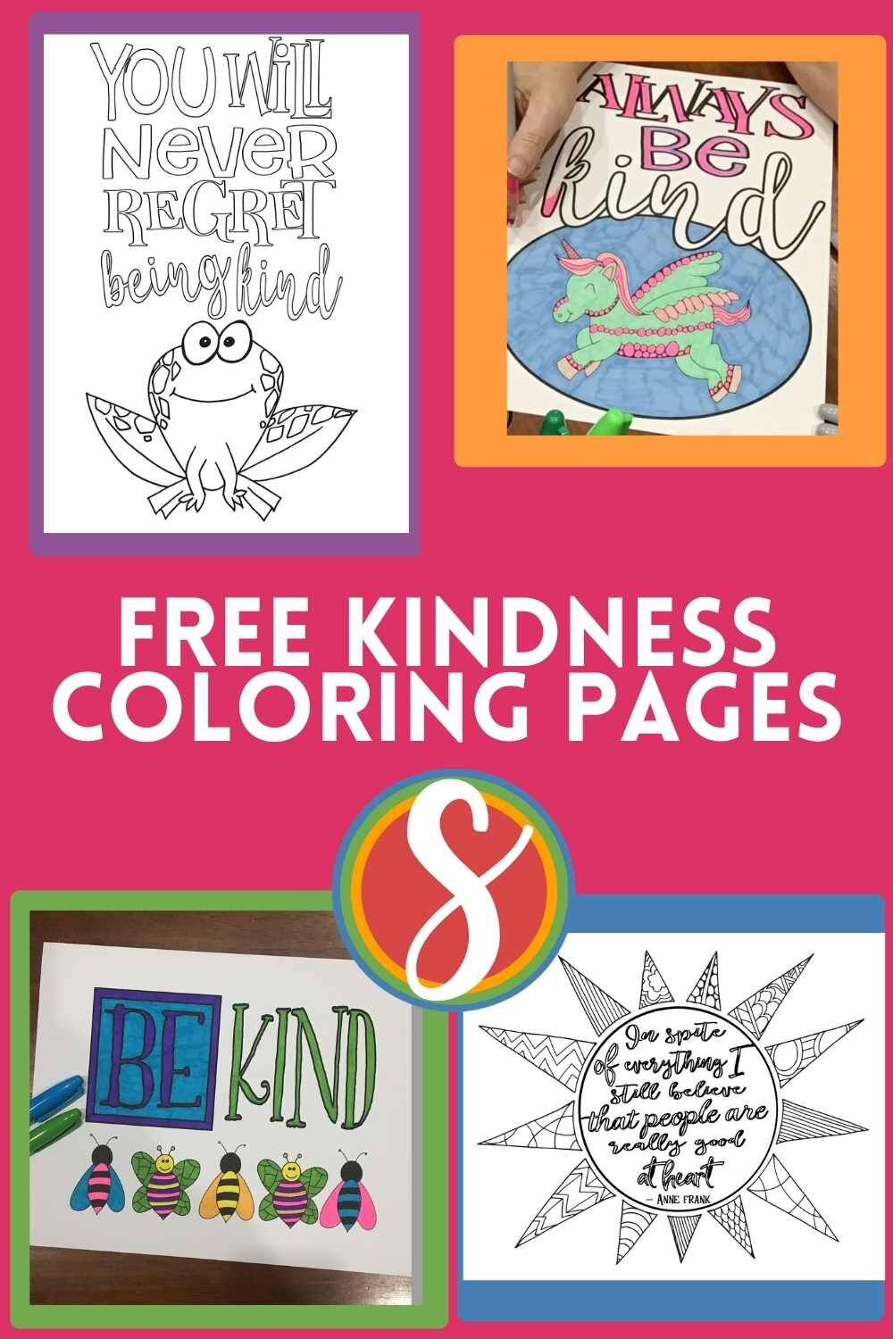 12 Free Coloring Pages About Kindness Stevie Doodles Free Printable Coloring Pages