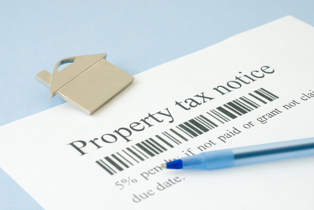 If You Owe Delinquent Property Taxes