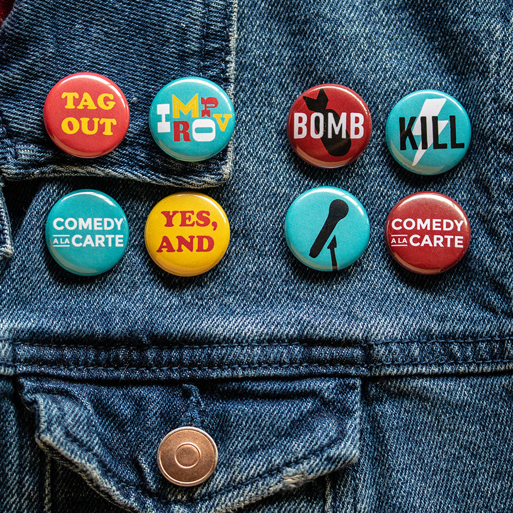 Button 4-Packs - Available at shows only