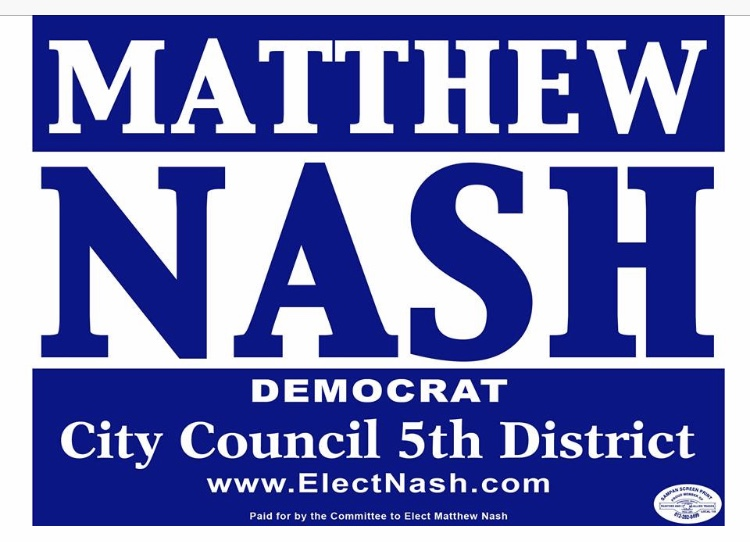 Re-Elect Matthew Nash