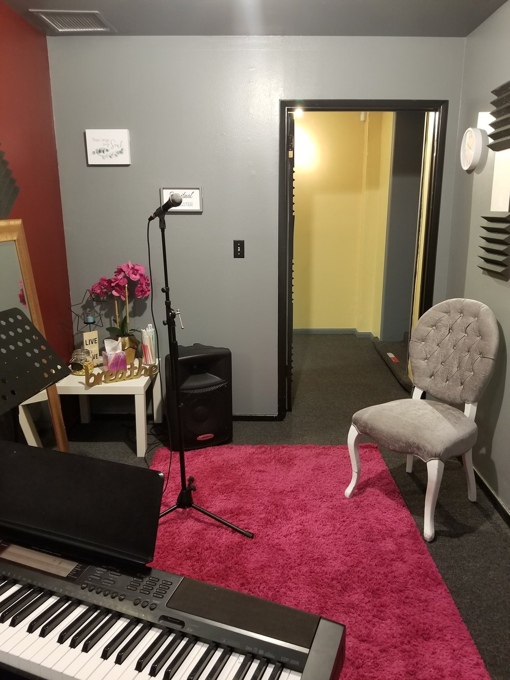 Singers' room - Where the Magic Happens!