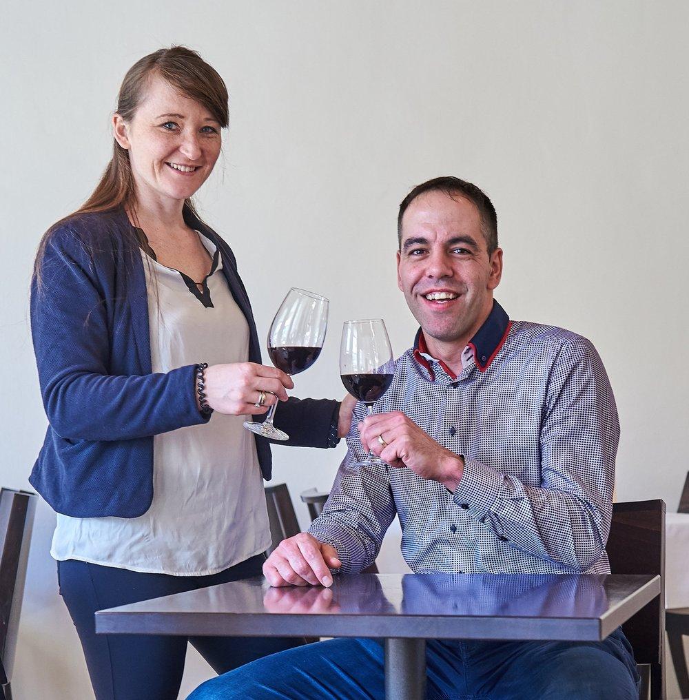 Ihre Gastgeber Monika und Maik Winter