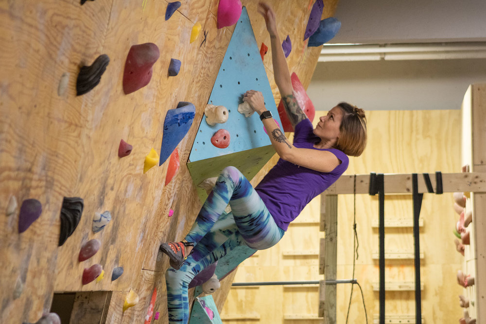 Wednesday Ladies Night - Lady-crushers climb for only $10.00