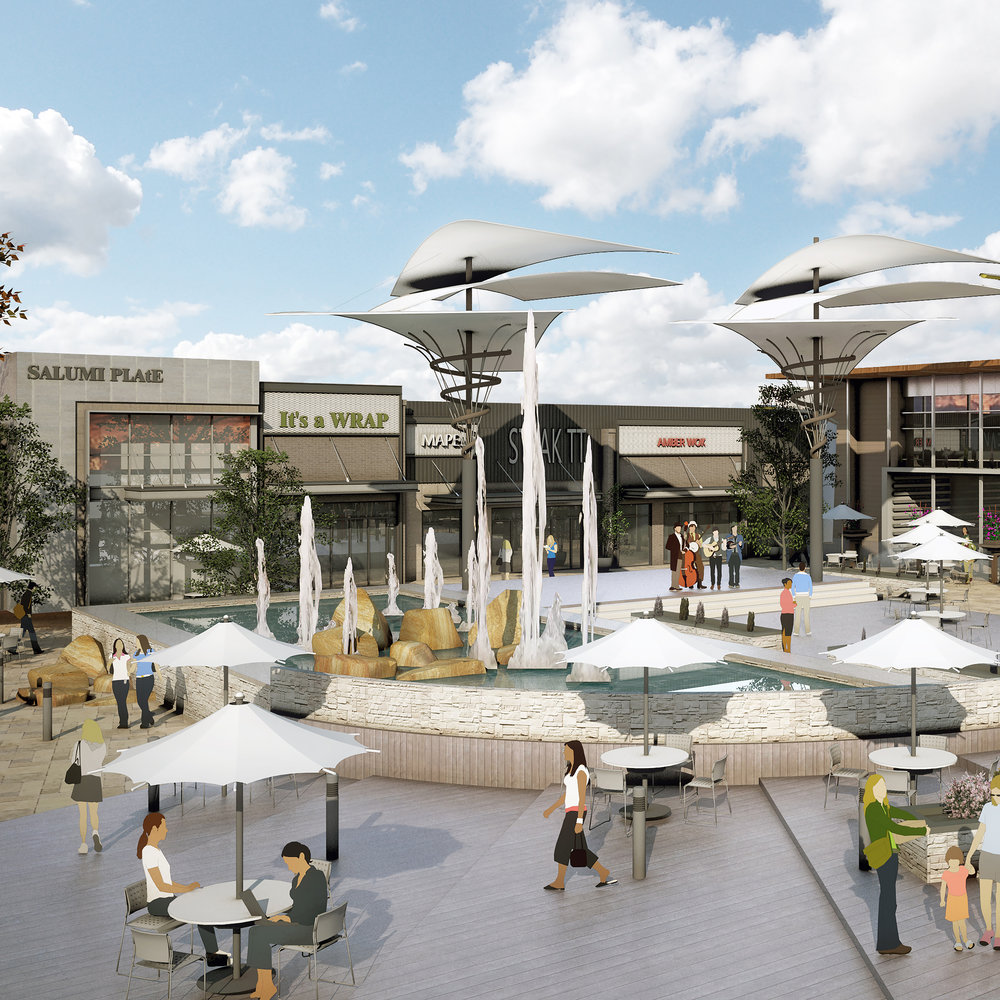COMMERCIAL - The Commercial team is involved in retail building shells, restaurants, interior finish outs and retail shopping centers. We offer creative and efficient solutions for remodels to repurposing and new construction.