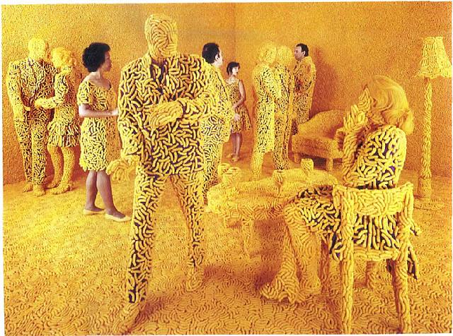 """The Cocktail Party,"" Sandy Skoglund"