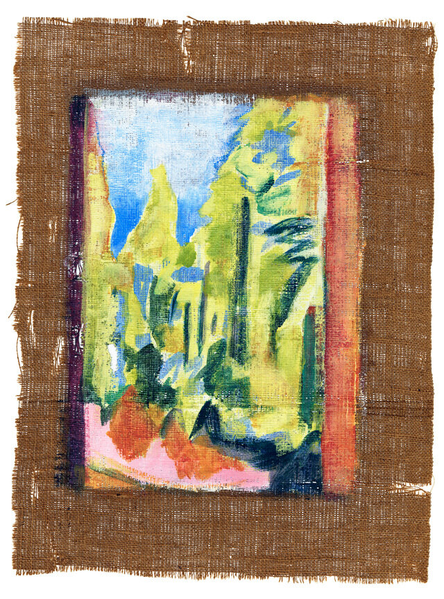 """Pace House, Mid-day  variable: 14 x 11"""" / 27 x 20"""" giclee on Hahnemühle paper (edition of 50)"""